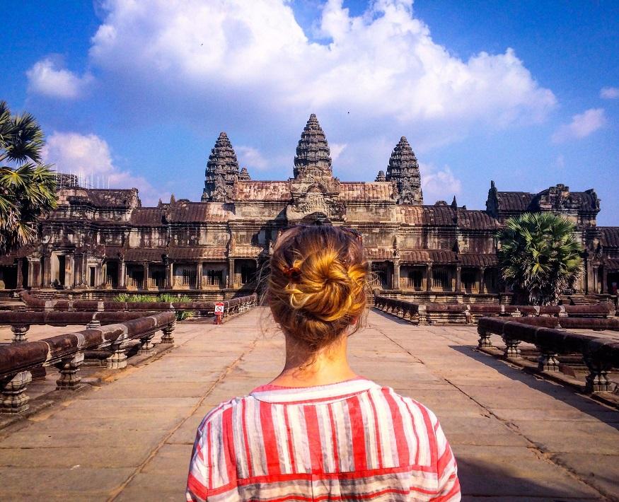 backpacker hostel in Angkor Wat