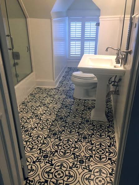 bathroom flooring baton rouge